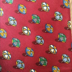 Salvatore Ferragamo Accessories - 🆕 Salvatore Ferragamo 100% Silk Tie Umbrellas